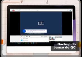 Como gerar uma cópia de segurança ou backup do banco do QC
