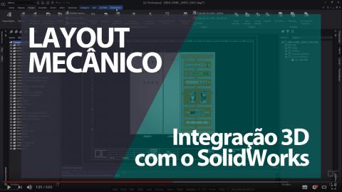 Integração 3D com o SolidWorks