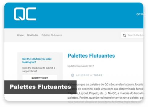 Palettes Flutuantes